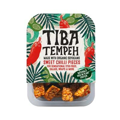 Tiba Tempeh Sweet Chilli Pieces