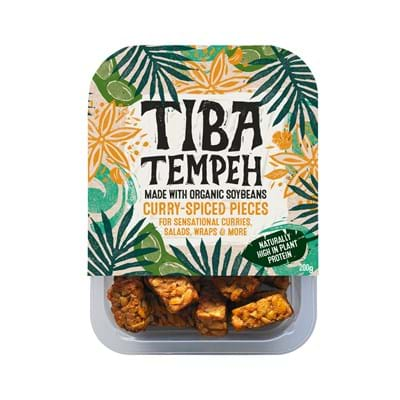 Tiba Tempeh Curry Pieces